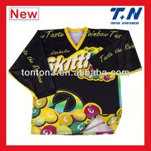 custom training ice hockey jersey