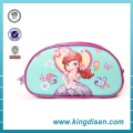 Hot sale 3D princess large capacity stationery pen bag for student