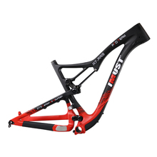 27.5 carbon frame mtb all mountain bike full suspension frame with travel 150mm
