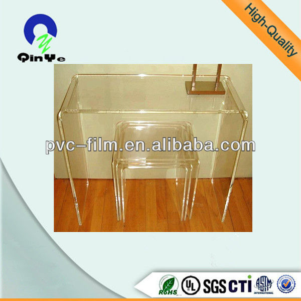 optically clear acrylic product design