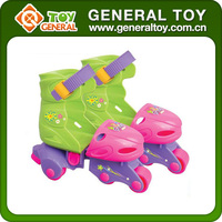 Fashion New Model Kids 3 Wheel Roller Skates Shoes