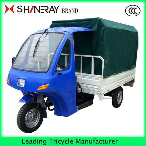 made in China semi-closed 3 WHEEL MOTORCYCLE TRICYCLE SCOOTER WITH ROOF