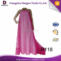 2016 Dangote Embroidery French Lace In Custom Design Wholesale In China For Wedding Dress/girl Suits R118