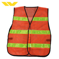 Color cheap pvc warning clothing waterproof workwear fabric kids adult uniform vest reflective safety jackets with pockets