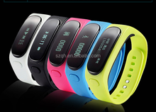 Touch Screen OLED Smart Healthy Bracelet Watch Wristband Sport Gym Fitness Tracker Stopwatch Passometer WristWatch Phone Mate