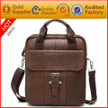 Handbag manufacturer customize high quality genuine leather men handbag