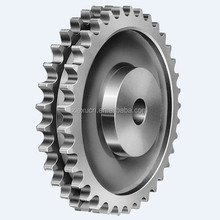 High precision escalator parts sprocket double row escalator chain wheel