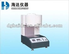 Easy operation of plastic melt flow analyzer for PP and PE