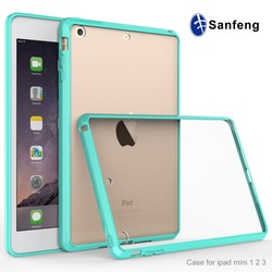 For Blank Case Ipad Mini 3,Clear Unbreakable Protector Cover For Ipad Mini, Transparent Shockproof For Mini Ipad Case