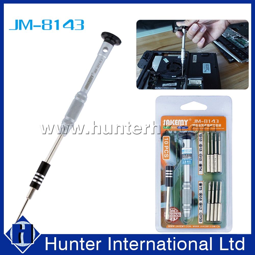 Hot Selling 10 in 1 Pen Aluminum Screwdriver Tool