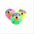 soft dog squeak ball toy