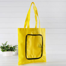 promotional gift cheap custom printing non woven bag fold