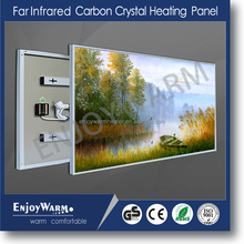 ErP Lot20Manufacturer TUV GS SAA Rohs CE IP54 new popular 110V 220V infrared heater panel