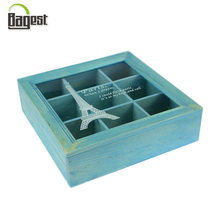 Fashion High Quality Wooden Gift Box with Acrylic Lid