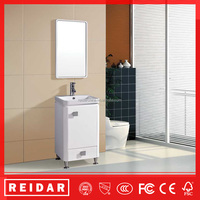 2016 Newest high quality commercial modern PVC bathroom vanity cabinets