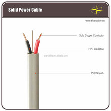 BVVB stranded cable Cu PVC insulated , PVC jacket round power line