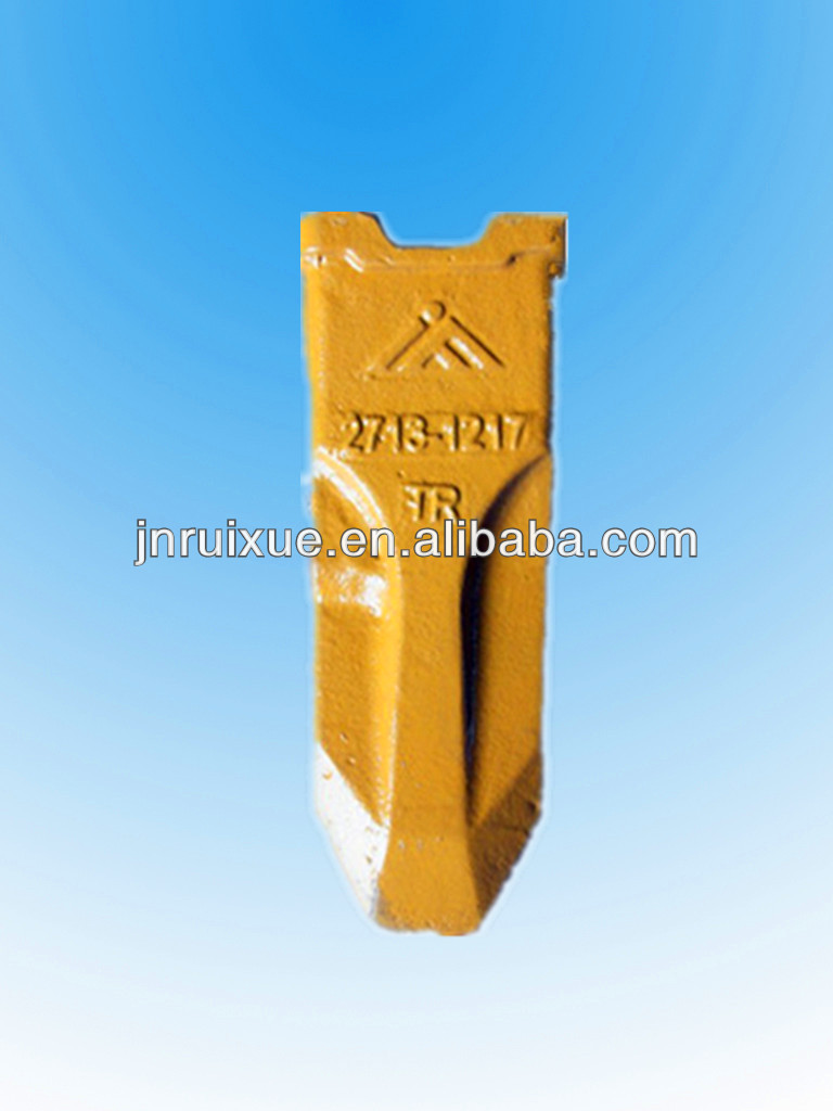 excavator bucket tooth 2713-1217RC bucket teeth types