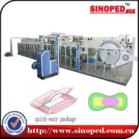 Automatic Fast & Easy open &High quality lady Panty shield making machine(Ultra-thin type) SNC-HDB-100