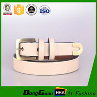 Wholesale shine color pu custom belt for girls chastity belt