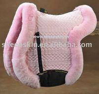 High Quality Sheepskin horse saddle pad