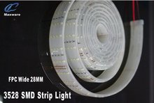China Professional manufacture led strip light use SMD5050/3528 wide band for 192pcs/M DC24V input