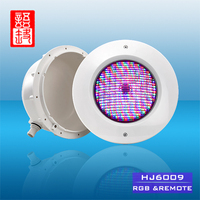 Yutong IP68 Pool Remote Controllable LED Light, Multi Color Led Wall Light