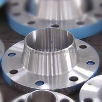 ASTM A182 F53 Duplex Stainless Steel Long Welding Neck Flange