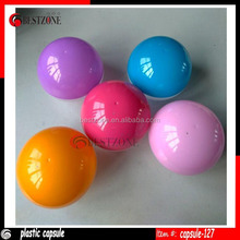 Factory 127mm Beauty Plastic Ball Mixed Colored Vending Capsule for Children