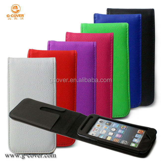 Latest design case for iphone 5 wallet leather case for iphone 5