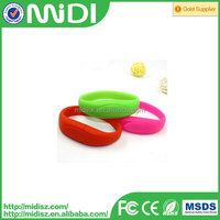 Hot sale wristband usb flash memory, bracelet usb disk, colorful usb pen drive bracelet