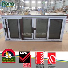 blind inside double glass window with black color