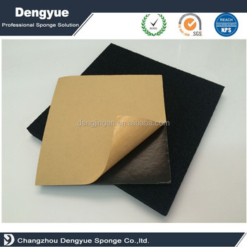 high density 1/4 inch thick customized size soft EVA/Neoprene rubber foam