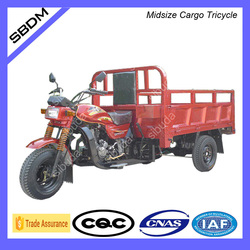 Sibuda Motor Gasoline Three Wheel Tricycle For Cargo