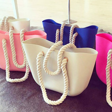2017 sell cheap silicone beach bag silicone bag silicone tote bag