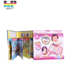 Customized design paper softecover children book cheap printing