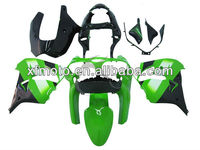 For Kawasaki ZX9R 00-01 Green White Black fairing Kit Bodywork