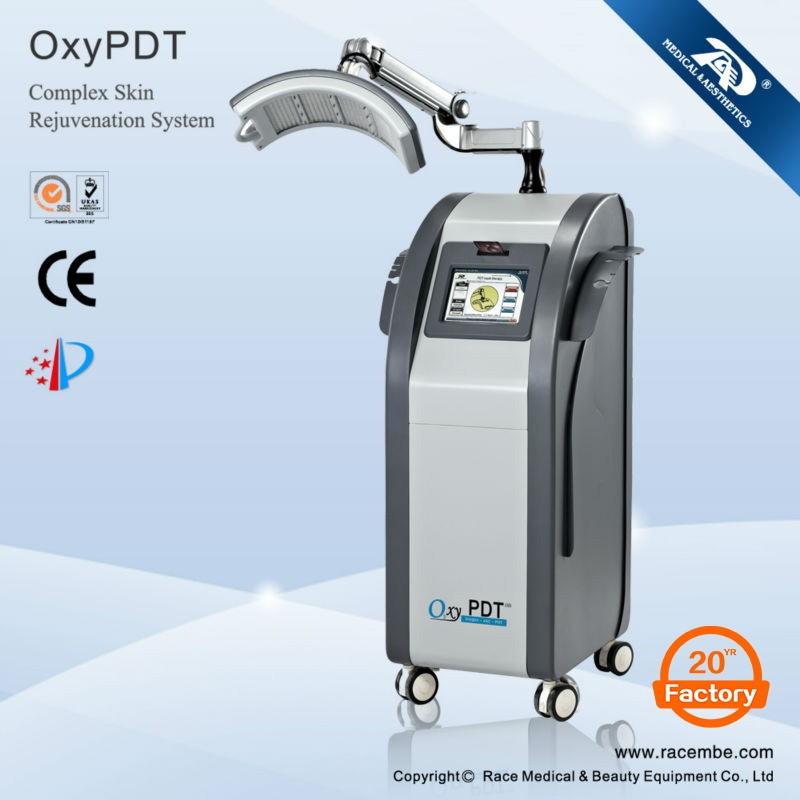 Guangzhou Race active face skin oxygen infusion machine / oxy facial mask spray ( CE, ISO13485, Since1994)