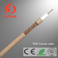 Coaxial Cable RG6 ISO 9001/CE CATV /SAT TV