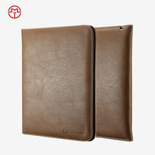 Customized Protective Back PU Leather Tablet Cover For Apple iPad air 2 Case