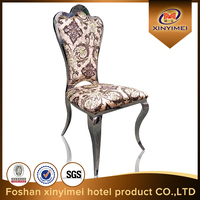 guangdong foshan high grade PU stainless steel chair for wholesale