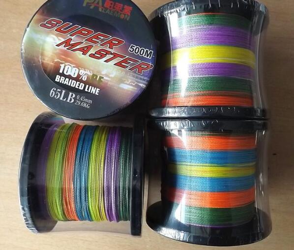 500M 0.6-8# Super Mater <strong>PE</strong> Line 4 Braid Fishing Line
