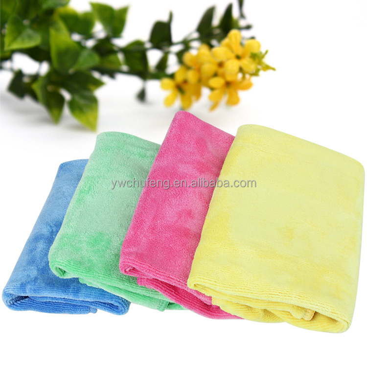 High quality Superfine fiber Grinding Dry hair towel