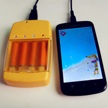 portable multi power charger for smart phone, gps and camera etc