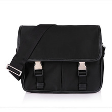 Alibaba china manufactur stylish waterproof nylon leather mens messenger bag for your custom logo