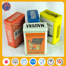 CMYK/PMS offset printing OEM tin can for tea candy chocolate