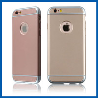 C&T Ultra Thin Hybrid 3 in 1 Shield Series Slim Impact Rose Gold Case Cover for Apple iPhone 6s