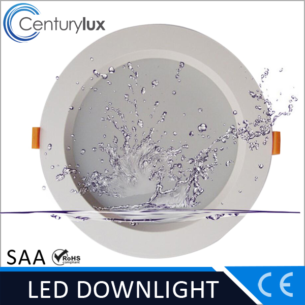for commercial lighting white color frost cover/mid dot anti-glare down light led 40w