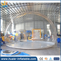 Clear Inflatable Dome Tent , Inflatable Clear Bubble Tent , Igloo Inflatable Clear Tent For Sale