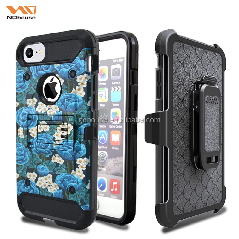 For iphone 7 case protective function unbreakable phone case with luxury printing