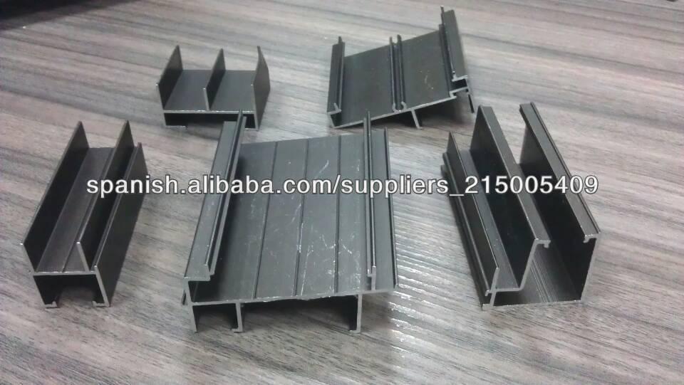 Alta calitad bajo precio aluminio de perfiles para mueble - Precio perfiles de aluminio ...